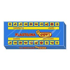 Jovi - Caja de plastilina, 15 pastillas 150 g, color azul oscuro (7113)
