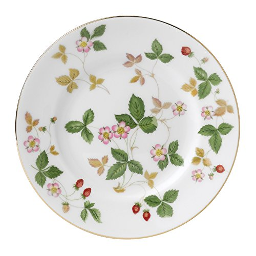 Wedgwood Wild Strawberry Bread and Butter Plate, White ()