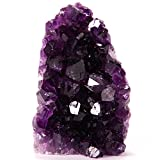 AMETHYST Cluster (1 lb to 1.5 lbs) Own a larger piece of this beautiful purple crystal cluster. Expand your collection! An exclusive offering of Superior Specimens. Plus, BONUS Selenite wand!