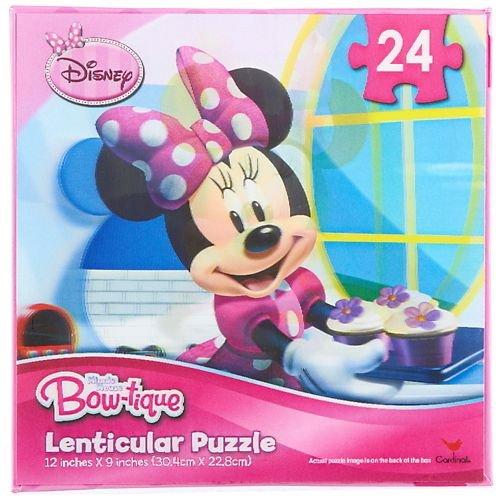 Friends Lenticular Puzzles - Disney Minnie Mouse Bow-tique Lenticular Puzzle, 24 Pieces