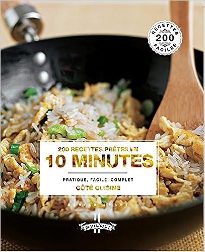 Livres 200 RECETTES PRETES EN 10 MINUTES pdf ebook