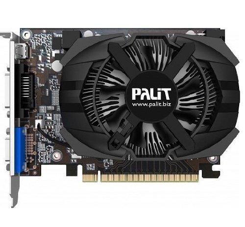 Tarjeta gr/áfica Palit Nvidia GeForce GTX 650 OC 1/GB GDDR5, PCI Express 3.0, Mini HDMI, DVI-D, VGA, DirectX 11.0, OpenGL 4.2, GPU basada en arquitectura Kepler, 3D Vision
