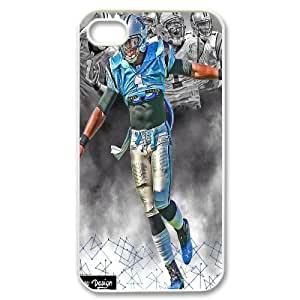 High Quality Phone Back Case Pattern Design 12Superman Cam Newton Pattern- For Iphone 4 4S case cover