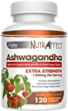 Organic Ashwagandha Root Powder 1300mg – 120 Vegan Capsules with Black Pepper Extract for Better Absorption – Natural Anti Anxiety, Stress Relief, Mood, Thyroid & Adrenal Support Herbal Supplement (1) Review