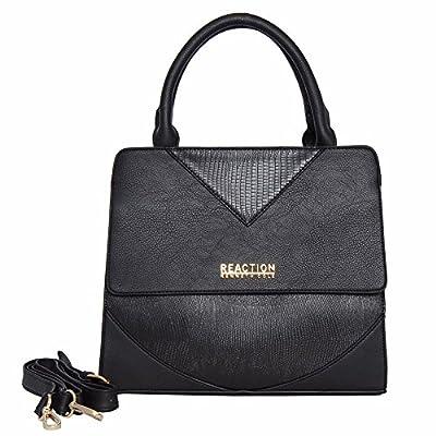 Kenneth Cole Reaction Right Angles Satchel Handbag