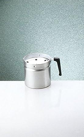 Italo Ottinetti - Hervidor de Leche (1 litro, Aluminio, metálico, Talla única)