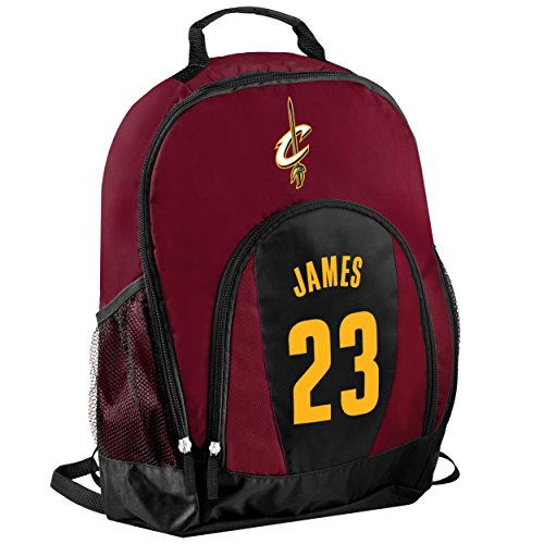 TBFC Cleveland Cavaliers Primetime Backpack School Gym Bag - Lebron James #23 by TBFC