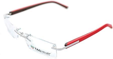Tag Heuer Brillengestelle Th-8109 Monturas de gafas, Multicolor (Mehrfarbig), 56.0 Unisex Adulto