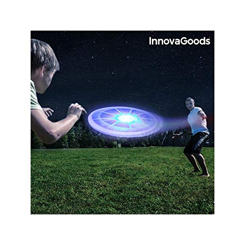InnovaGoods ig812553 Frisbee con LED, Unisex Adulto, Taglia Unica IGS