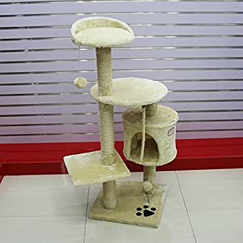 MERRYHOME Muebles para gatos: Cat Tree Muebles Cat Scratcher Cat Tree Activity Centre Cat Play