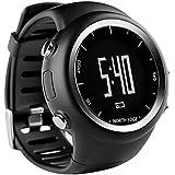NORTH EDGE X-Trek Digital GPS Watch StopWatch Pace Speed Calorie Lap For Running