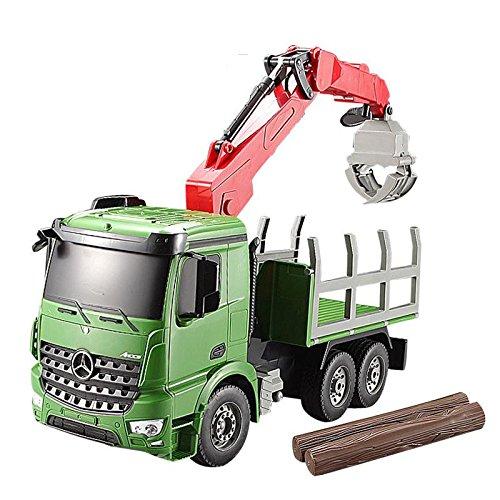 リモートコントロール建築おもちゃトラック、Rcクレーン車、少年のためのおもちゃ