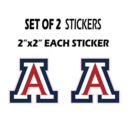 Arizona Decal Set (Set of 2 letter A for Arizona Vinyl Decal Sticke laptop car)
