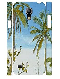 Individualized Hipster Oil Painting Trees Hard Plastic Samsung Galaxy S4 Mini I9195 Cover Case