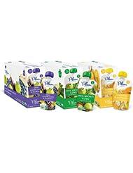 美亚:销量第一!Plum Organics有机宝宝辅食混合装,4盎司,18包 点coupon后只需.39