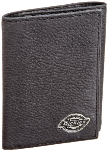 Dickies Men's Trifold Wallet, Black, One Size