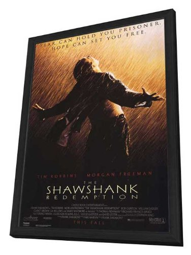 The Shawshank Redemption - 27 x 40 Framed Movie Poster