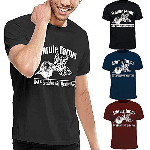 En Brown Kobay Taille Hommes Coton T shirt Grande D'impression Tees Manche Courte Garçon UqOUBw7xv
