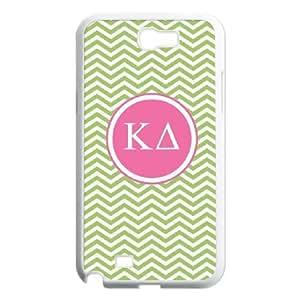 Kappa Delta Green Chevron Samsung Galaxy N2 7100 Cell Phone Case White toy pxf005_5865181