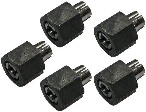Dewalt DW614/DW615 Router Replacement (5 Pack) OEM Collet & Nut # 326286-01-5pk