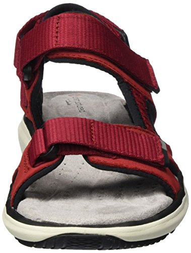 Clarks Women's Un Roam Step Sling Back Sandals Red (Red Nubuck) cheap sale 100% authentic buy cheap 2015 new sale professional LMKcv