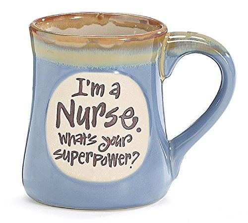 Nurse Superpower Light Blue Mug product image