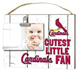 "KH Sports Fan 10""x8"" St. Louis Cardinals Clip It Weathered Baby Logo Photo Frame"