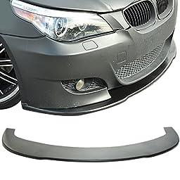 04-10 BMW E60 5 Series M5 Under Front Bumper Lip Spoiler Splitter (PU)