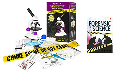My First Lab Whodunnit? Detective Spy Scope and The Usborne Forensic Science Book Set (2 Pack)