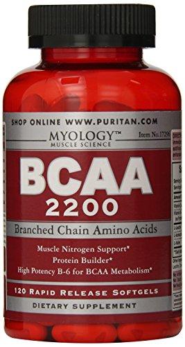 Myology BCAA 2200-120 Softgels (Myology Bcaa)