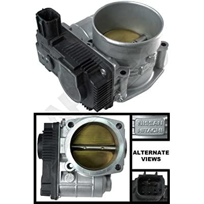 APDTY 161198J103 Electronic Throttle Body Assembly Fits 3.5L V6 Engine On 03-06 Nissan 350Z 02-06 Altima 02-08 Maxima 03-07 Murano 04-09 Quest 03-08 Infiniti FX35 03-06 G35 02-04 I35 & 06-08 M35: Automotive