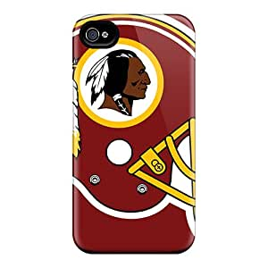 New Style Case Cover Lov2633PKoh Washington Redskins Compatible With Iphone 4/4s Protection Case