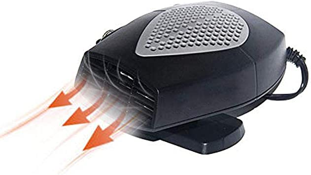 2019 US 3Port 2in1 12V Portable Car Heater Cooling Fan Heater Defroster Demister