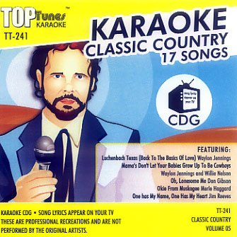 (Top Tunes Karaoke CD+G Classic Country Vol. 5 TT-241)