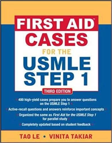 Kết quả hình ảnh cho First Aid Cases for the USMLE Step 1 – 3rd edition