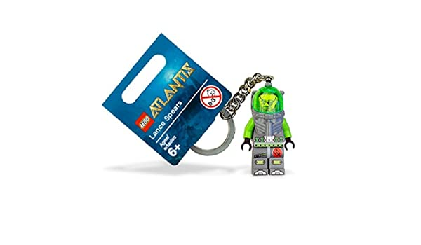 LEGO Atlantis: Lance Spears Buzo Llavero: Amazon.es ...