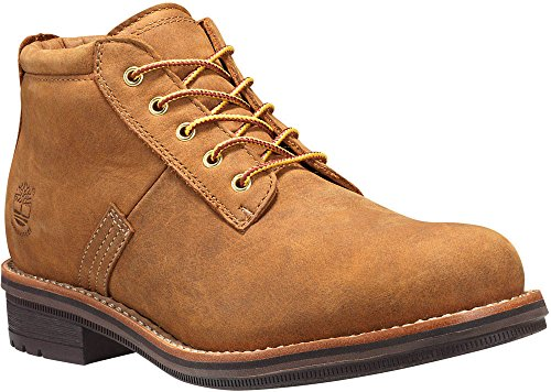Timberland Men's Willoughby Waterproof Chukka Wheat Full Grain Boot 10.5 D (M)