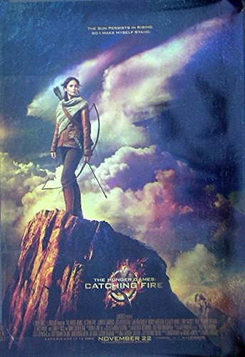 Hunger Games:Catching Fire (2013) Authentic Original Jennifer Lawrence 27×40 One Sheet Movie Poster