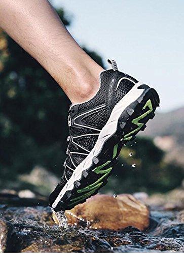 Plein Sport Kangle Amont 42 Respirant Air Surface Mesh De Chaussures Hommes En Randonnée 4F6Ovw4RB