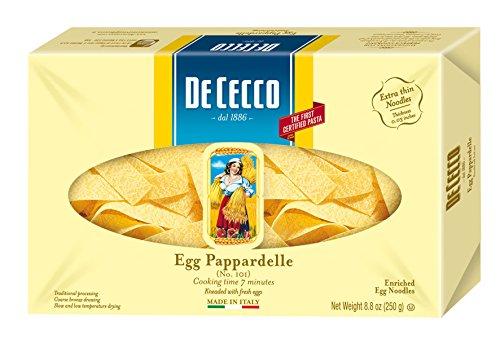 De Cecco Pasta, Egg Pappardelle, 8.8 Ounce - Dried Pasta