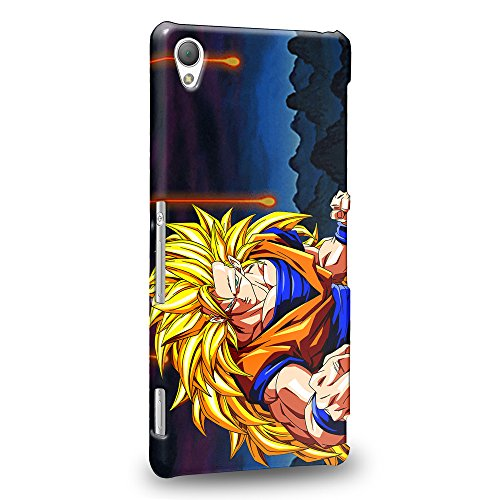 Case88 Premium Designs Dragon Ball Z GT AF Son Goku Super Saiyan Super Saiyan 3 Son Goku Protective Snap-on Hard Back Case Cover for Sony Xperia Z3