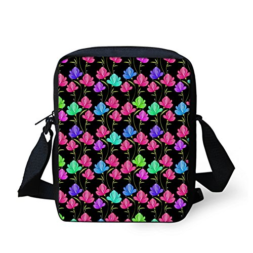 Print Women IDEA Flower Girl Bags for Mini Butterfly Handbags HUGS Crossbody xE8CC1