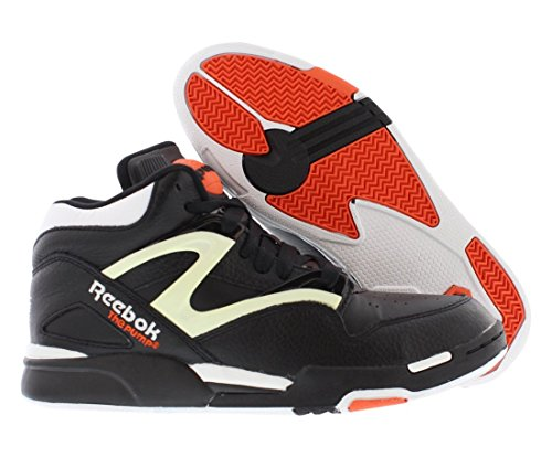 5275ba33fe4 Reebok Pump Omni Lite Shoes - Black White Varsity Orange - - Import ...