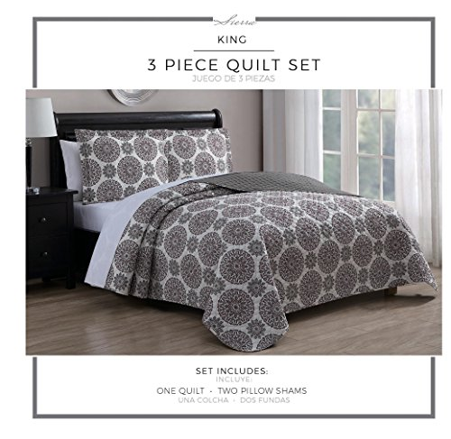 plum and gray quilt - 6