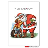 1111-Asless-Chaps-Funny-Merry-Christmas-Greeting-Card-with-5-x-7-Envelope-by-NobleWorks