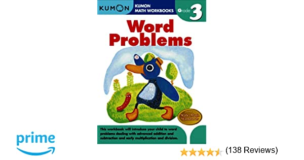 Word Problems (Kumon Math Workbooks Grade 3): Kumon Publishing ...