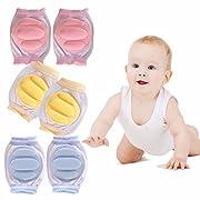 Baby Leg Warmers Knee, Colorful cute Animal Theme Girls Boys Toddler Kneepads High Stockings for Crawling Unisex Socks Leg Sleeve Warmers (3 Pairs-baby)