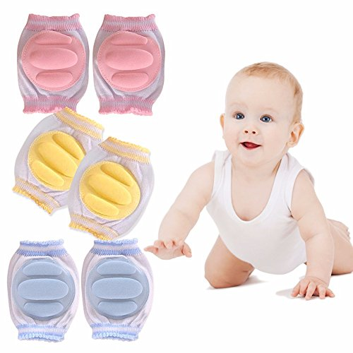 Baby Crawling Anti-Slip Knee, Unisex Baby Toddl...