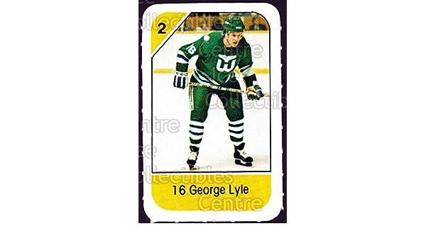 base CI George Lyle Hockey Card 1980-81 O-Pee-Chee 379 George Lyle