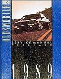 1989 Oldsmobile Toronado & Trofeo Repair Shop Manual Original